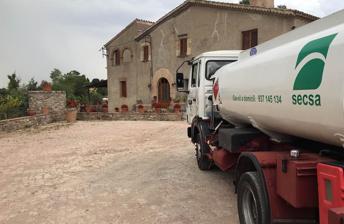 Cuba de combustible - Gasoil a domicili - SECSA