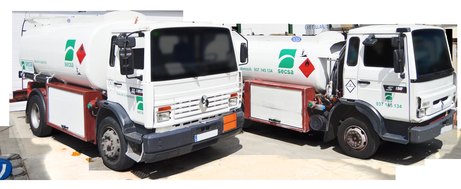 Cubes de combustibles servei 24h - Gasoil a domicili - SECSA
